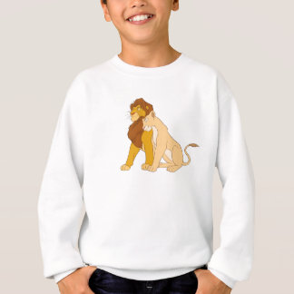 Lion King's Adult Simba and Nala Disney Sweatshirt