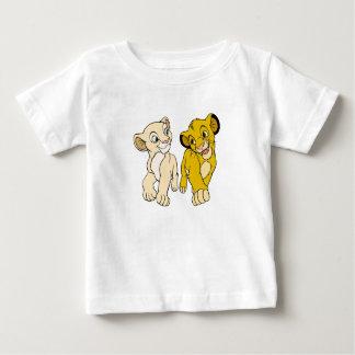 Lion King's Simba & Nala smiling Disney Baby T-Shirt