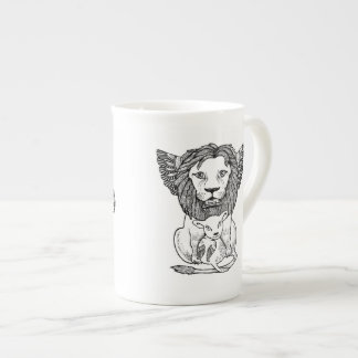 Lion & Lam Bone China Mug