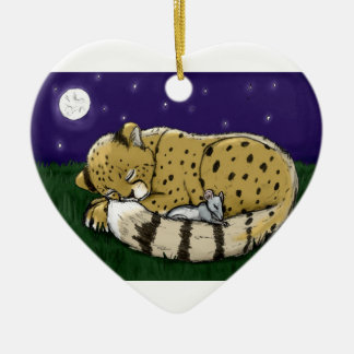 """Lion+LambPeace"" Ornament"