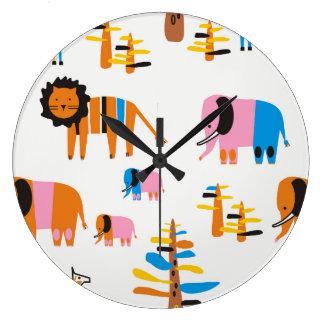 Lion, Large Clock