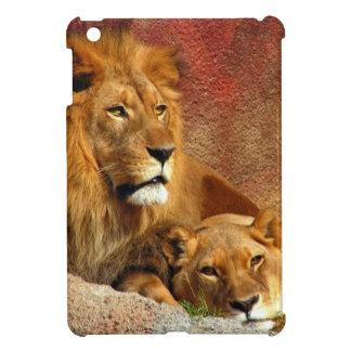 Lion Lioness Resting iPad Mini Cover