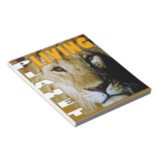 Lion Living planet Notepad