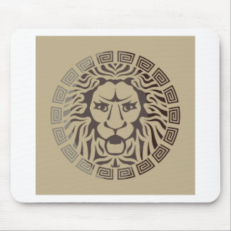 Lion Logo Vintage Style Mouse Pad