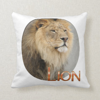 Lion Lovers King of the Jungle Cushion