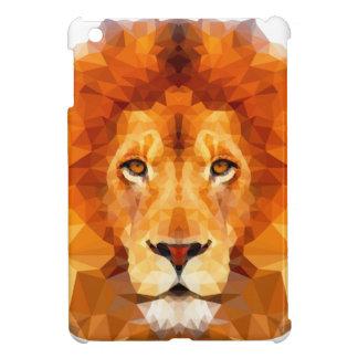 Lion Low poly design. Case Savvy iPad Mini Glossy iPad Mini Cases