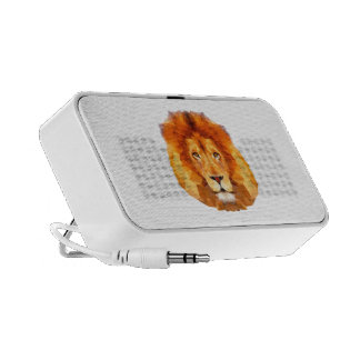 LION Low poly design. Lion The Doodle speaker