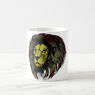 Lion Löwenkopf lion head Basic White Mug