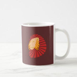 Lion Löwenkopf lion head Coffee Mug