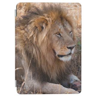 Lion Maasai Mara National Reserve, Kenya iPad Air Cover
