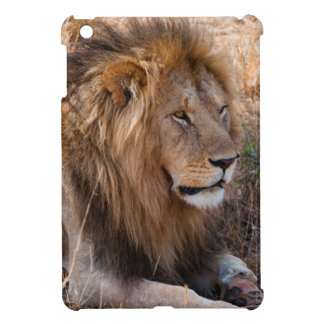 Lion Maasai Mara National Reserve, Kenya iPad Mini Cover