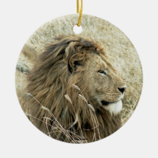Lion Male Christmas Ornament