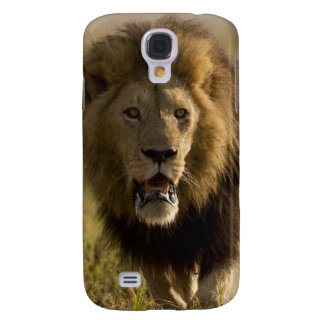 Lion male hunting galaxy s4 case