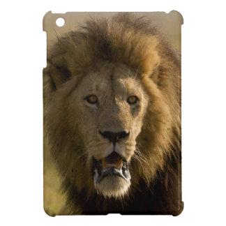 Lion male hunting iPad mini cases