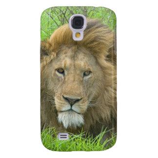 Lion Male Portrait, East Africa, Tanzania, Galaxy S4 Case