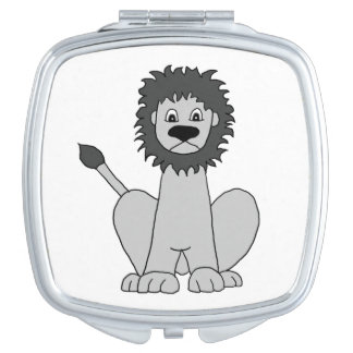 Lion Mirrors For Makeup
