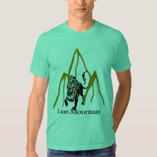 lion mountain t-shirt