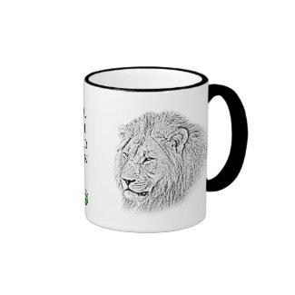Lion Mug - Africa Series