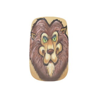 Lion Nail Stickers