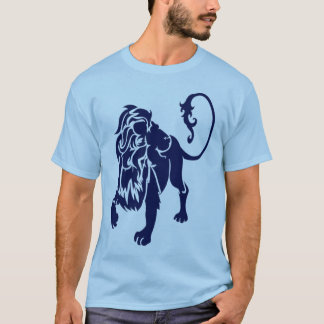 lion NAVY T-Shirt