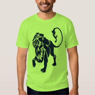 lion NAVY Tee Shirt
