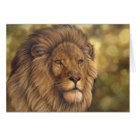 Lion Note Card
