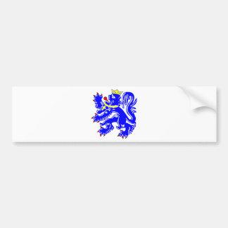 Lion of Bruges Bumper Sticker