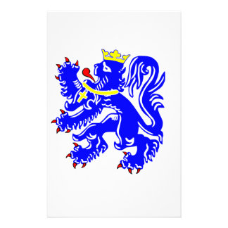 Lion of Bruges Personalised Stationery