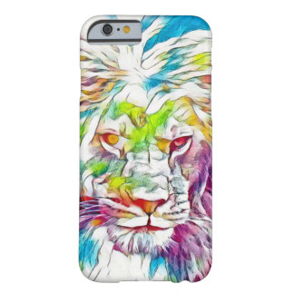 Lion of God Watercolor Pencil Art iPhone 6/6s Case