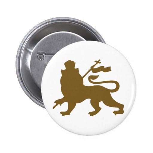 Lion of Judah 6 Cm Round Badge