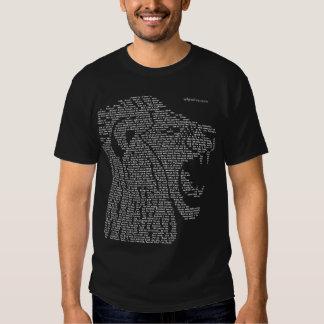 Lion of Judah and Samak Tshirt