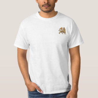 Lion Of Judah Basic White T-Shirt