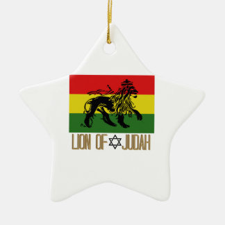 Lion Of Judah Christmas Ornament