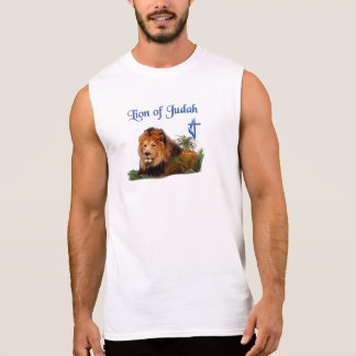 Lion of Judah clothing Sleeveless Shirt