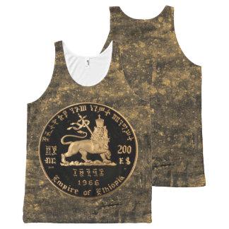 Lion OF Judah - Empire OF Ethiopia Rasta Tanktop All-Over Print Tank Top