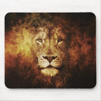 Lion OF Judah - Haile Selassie Rastafari Mouse PAD