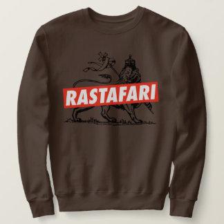 Lion OF Judah Jah Rastafari Emperor Rasta Sweater