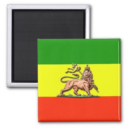 Lion of Judah Square Magnet