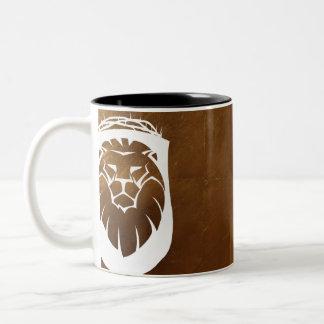 Lion of Judah Two-Tone Coffee Mug