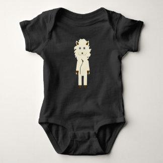 Lion of teacher generation baby bodysuit