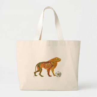Lion of the Cameroons 2010 flag gifts Tote Bags