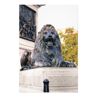 Lion of Trafalgar Square Photo Print