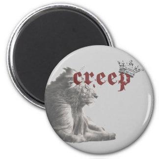 Lion of Zion 6 Cm Round Magnet