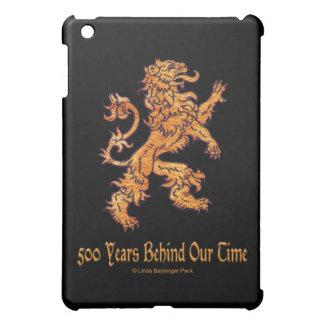 Lion on Black iPad Mini Covers