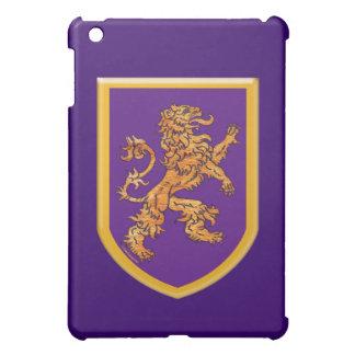Lion on Purple Shield iPad Mini Cover