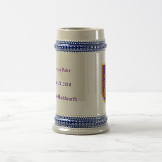 Lion on Purple Shield Coffee Mug