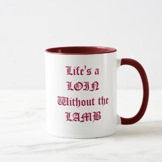 Lion or Lamb Mug