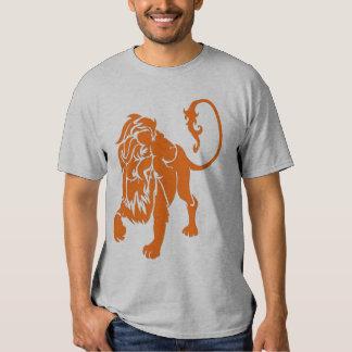lion orange t shirt