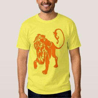 lion orange tshirt