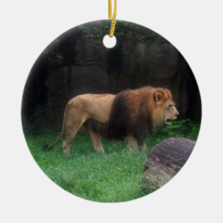Lion Ornament ~ Endangered Species Series